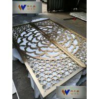 供应中式不锈钢屏风青古铜镂空屏风