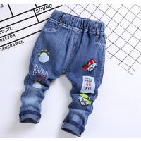 贵州六盘水童装在哪里进货的厂家直销童装牛仔裤大量超便宜的尾货地摊货源贵州市场货源低价牛仔裤