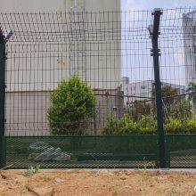 监狱防护网工程案例 广州Y型柱围墙护栏 佛山热镀锌钢网价格