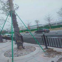 佛山U型防护栏厂家 江门港式隔离栏定制 深圳市政交通京式栏杆