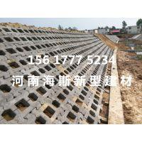 六边形水利护坡砖,连锁护坡砖,河道护坡砖