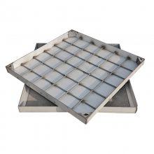 金聚进 供应不锈钢加筋井盖 螺纹钢承重井盖