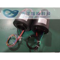 大尺寸导电滑环——解决机械设备360°自由旋转过电过信号的绕线问题
