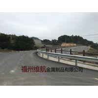 福建南平波形护栏 高速护栏网防撞栏立柱打孔