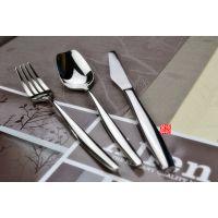 高档西餐餐具加厚不锈钢吃牛排刀叉勺全套欧式