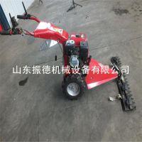 振德牌 ZD-60型汽油割草机 6.5马力带割草机 价格 牧区修整机