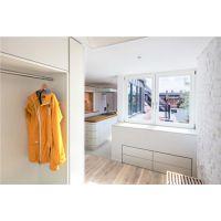 居乐高装饰昆明175平现代简约公寓,冰雪耀眼又高冷?