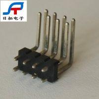 日拓电子异形排针排母连接器 大流量pogopin连接器黄铜信号针定制