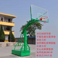 康腾室外标准移动专业篮球架直销