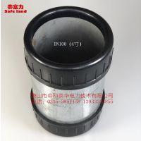 高品质电缆穿线管护口 型号:DN100(4寸)材质:线性PE 品牌:赛富力 唐山中科英华生产