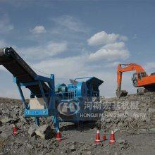 陕西西安时产200吨移动破碎机一年盈利多少钱?