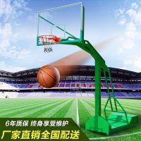 广西体育用品移动式篮球架供应 篮球架一套多少钱