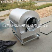 铸铁内胆翻炒机 炭加热炒货机 量大从优 新款新式坚果炒货机 振德
