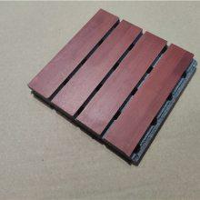 广州木质吸音板厂家专业定做防火槽孔吸音板