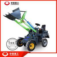 全新小型铲车家用液压农用手动挡建筑工程工地用推土抓木