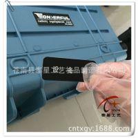 标牌厂家专业制作仪器控制面板贴纸 箱包标签 PVC PC控制面贴
