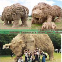内蒙古农庄庄园稻草人工艺品哪里生产制作?