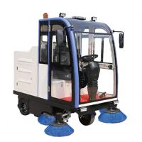 西安普森智能保洁车PS-J1860CF、驾驶式扫地车、小区物业道路清扫车