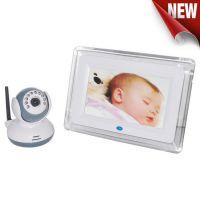 2.4G 7寸 婴儿监护器 无线宝宝监视器 双向对讲 Baby monitor红外