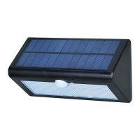 深圳工厂生产38LED太阳能人体感应灯电商出口多模式户外白色太阳能灯