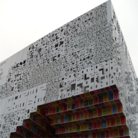 外墙氟碳 雕花造型 室外幕墙 镂空门头招牌