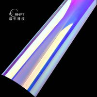 RNPT瑞年灯罩材料 镀铝胶片 金银超亮片 镜面 拉丝 印花 彩虹系列