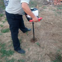 植树造林钻洞机 葡萄立柱打眼机 单人操作大棚埋桩挖坑机