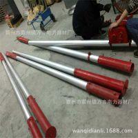 立杆机使用说明 人字抱杆立杆机 铝合金三角立杆机
