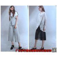 一线时尚品牌折扣女装米梵上衣连衣裙走份批发