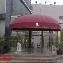浦东高行雨棚设计 上海浦东高行镇露台遮阳蓬设计 浦东高行伸缩雨篷安装厂家