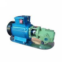 WCB30卧式单级抽油泵 水平时单段式齿轮油泵