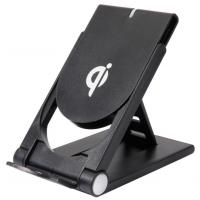 折叠支架无线充苹果8无线充电器三星QI快速Q11无线充礼品定制LOGO