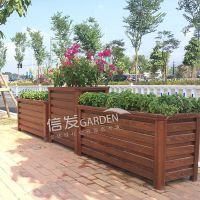 供应隔离带隔离栏护栏高低组合花箱 防风防水 快速安装铝合金材质