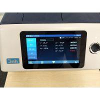 【实力测色】3nh YS6060高精度液体粉沫台式分光测色仪 包含透射反射测量