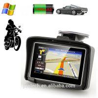 Karadar迷你摩托车自行车高尔夫汽车防水导航4.3寸电阻屏