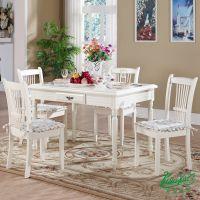 普洛瑞斯欧式风格整装实木定制餐桌椅