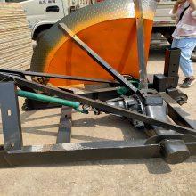 大型拖拉机配套路边石开沟机路面施工机械