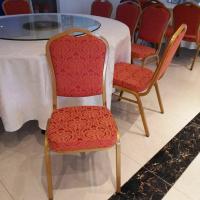 厂家直销酒店宴会椅 泰州宴会家具订做 婚宴婚庆金属钢椅