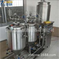 自酿黄啤酿酒机50升啤酒生产设备不锈钢家用啤酒生产机器