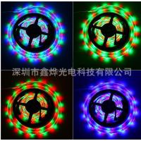 LED七彩灯条 3528灯带 60灯1米RGB软灯带 防水IP65