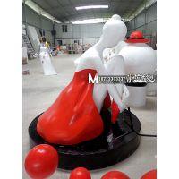 重庆泡沫雕塑芭蕾舞人物
