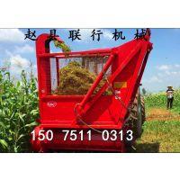 玉米青储机秸秆收割机养殖秸秆切碎回收机报价
