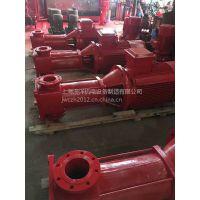 边立式多级消防消火栓喷淋泵 XBD1.7/27.8-GDL100自产直销