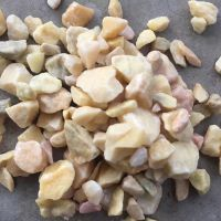 博淼供应天然水磨 园林造景铺路用洗米石 彩色洗米石颗粒