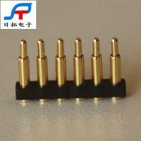 大电流pogopin弹簧探针连接器 天线顶针黄铜材质接触性能优 电子产品pogo pin连接器