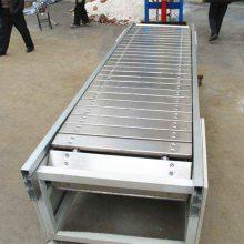 都用-煤炭链板输送机 石头装卸链板输送机