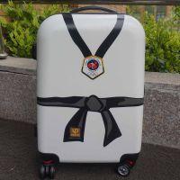 优魄儿童跆拳道服跆拳道小礼品纪念品跆拳道用品跆拳道行李箱