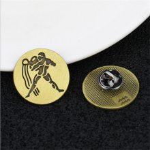 毕业纪念胸章定制/会议徽标订做/周年庆典烤漆徽章制作