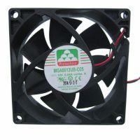 特惠 台湾Protechnic永立 12V 8025温控风扇 MGT8012ZB-W25