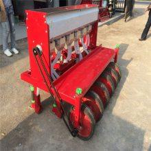 免间苗谷子精播机 拖拉机带动播种机 可覆膜施肥谷子种植机